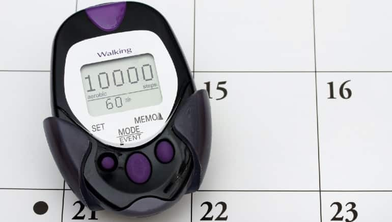 This is how many calories you burn when you walk 10,000 steps in a day