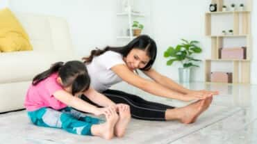 Exercise and healthy diet during childhood can ensure less anxiety in the future
