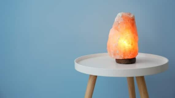 Do Himalayan salt lamps really speed up healing? Let's find out