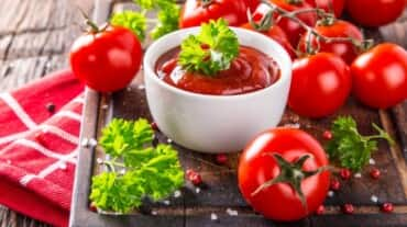 Try this tomato sauce recipe that goes with everything from pasta to sandwiches