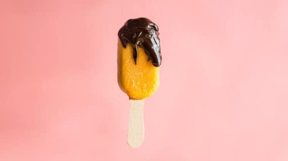 Try this mango and dark chocolate popsicle recipe which will surely hit the right spot on a hot summer day
