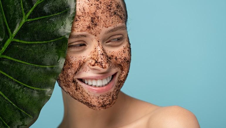 Diy Coffee And Neem Oil Face Scrub